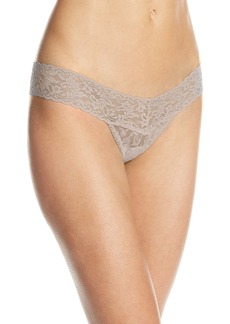 Hanky Panky Women's Signature Lace Low Rise Thong Panty
