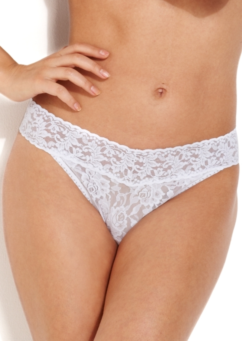 Hanky Panky Signature Lace Women's 4811 Original Rise Thong