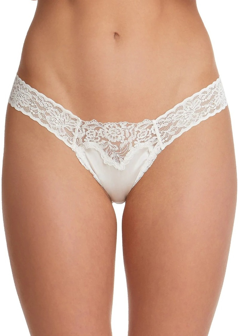 Monique Lhuillier x Hanky Panky Jolie Diamond Thong