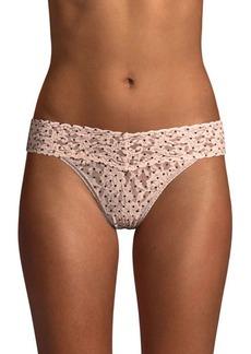 Hanky Panky Pixie Dot Bikini Fit Lace Briefs