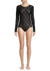 Hanky Panky Signature Lace Long-Sleeve Bodysuit