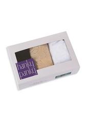 Hanky Panky Three-Pack Signature Lace Original Rise Thongs