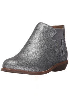 Hanna Andersson Krista Girl's Glitter Ankle Boot Charcoal