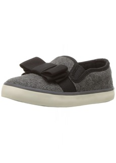 Hanna Andersson UNA Girl's Bow Slip-On Skate Shoe