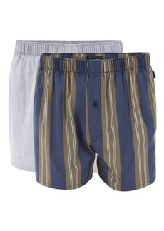 Hanro 2-Pack Woven Boxers