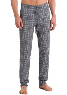 Hanro Basil Diamond-Pattern Knit Lounge Pants