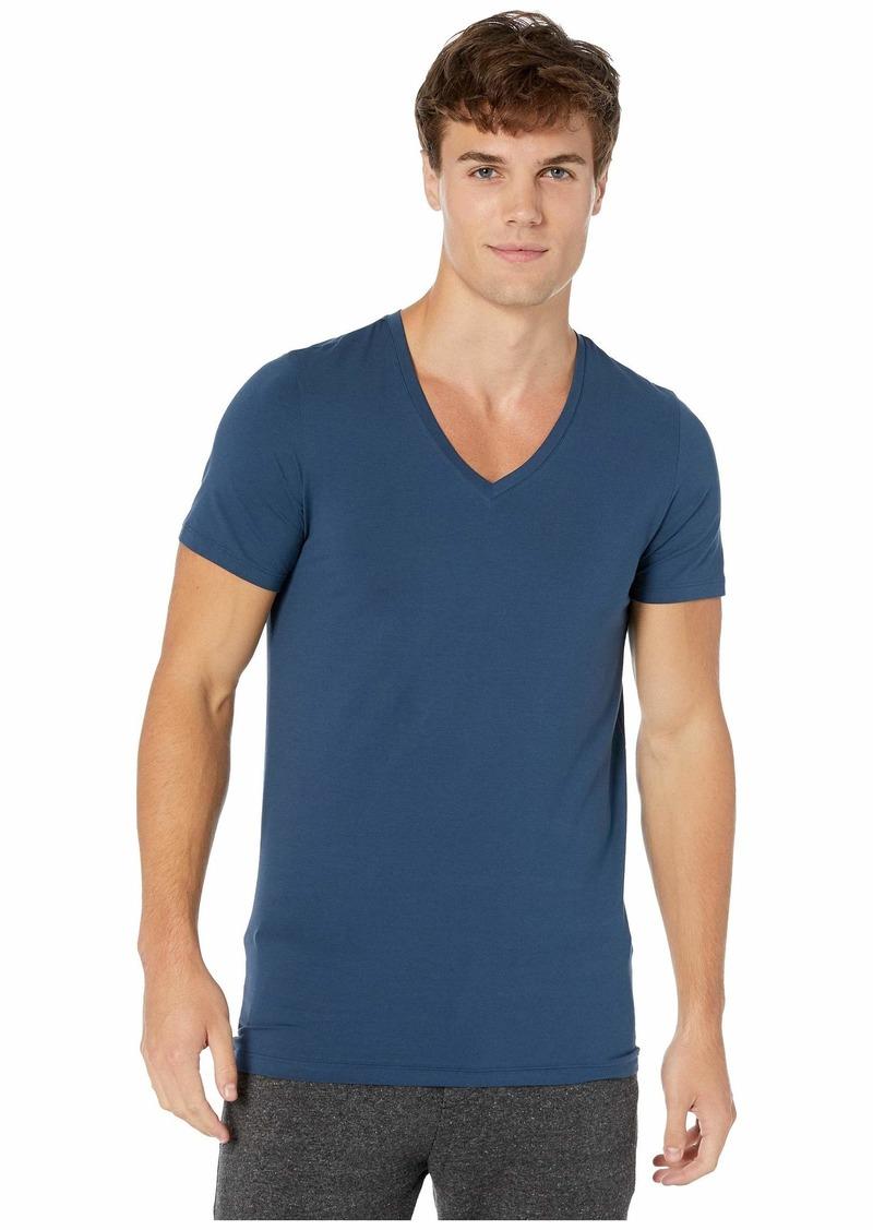 Hanro Cotton Superior V-Neck Shirt