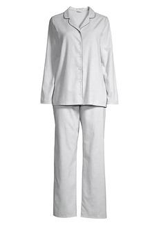 Hanro Edda Flannel Pajama Set