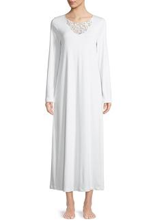 Hanro Ella Long-Sleeve Nightgown