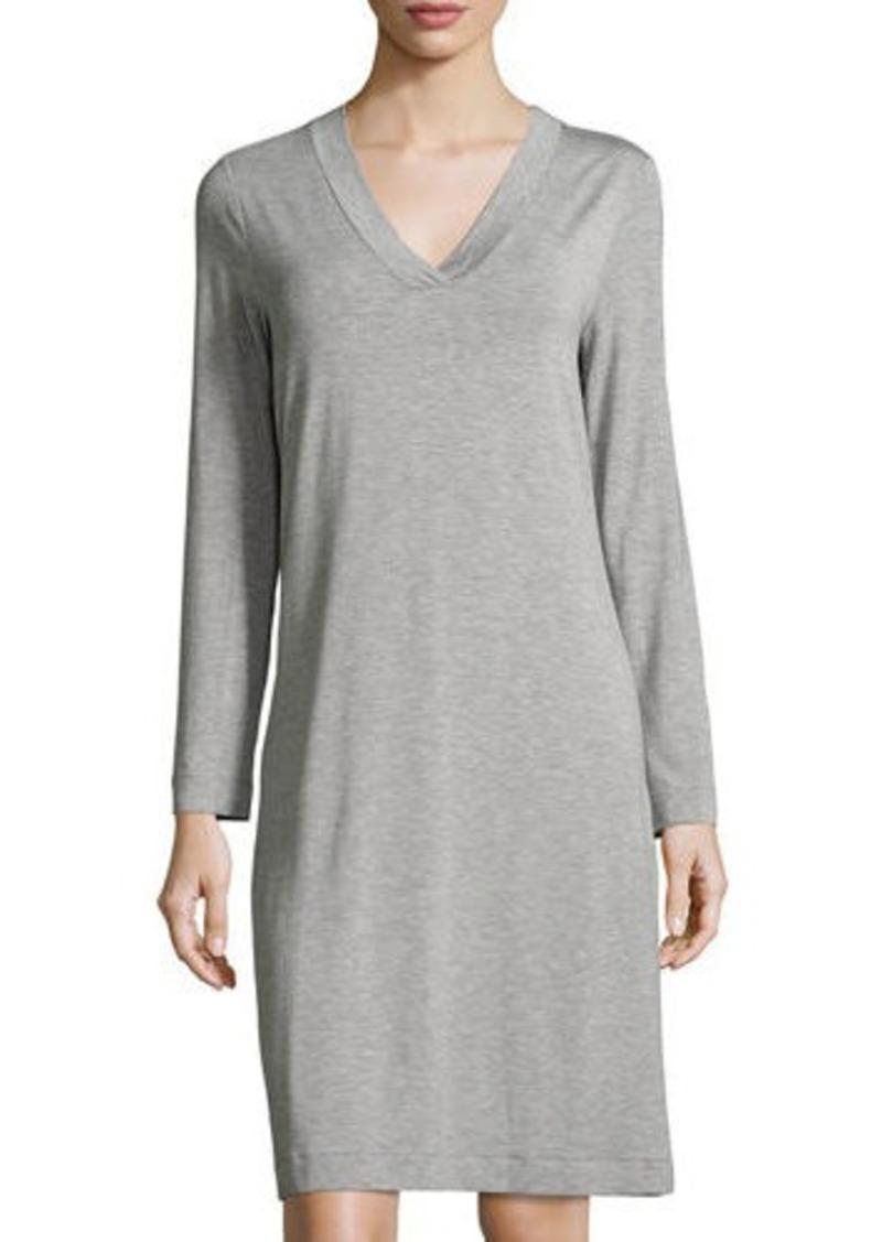 ecbac72ebc Hanro Champagne Long-Sleeve Nightgown