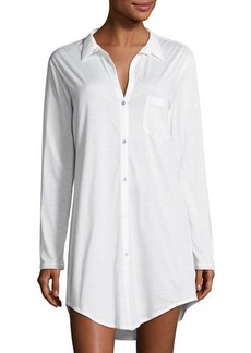 Hanro Cotton Deluxe Boyfriend Sleepshirt