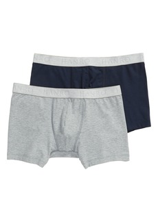 Hanro Cotton Essentials 2-Pack Boxer Briefs