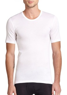 Hanro Cotton Pure Crewneck Tee