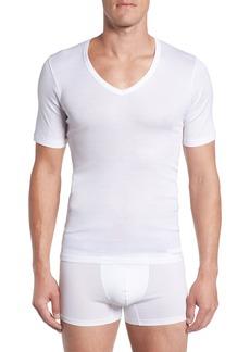 Hanro Cotton Pure V-Neck T-Shirt