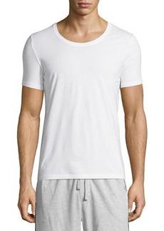 Hanro Cotton Superior Short-Sleeve Crewneck T-Shirt