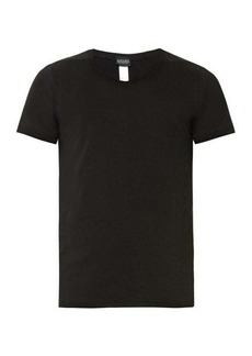 Hanro Crew-neck stretch-cotton jersey T-shirt