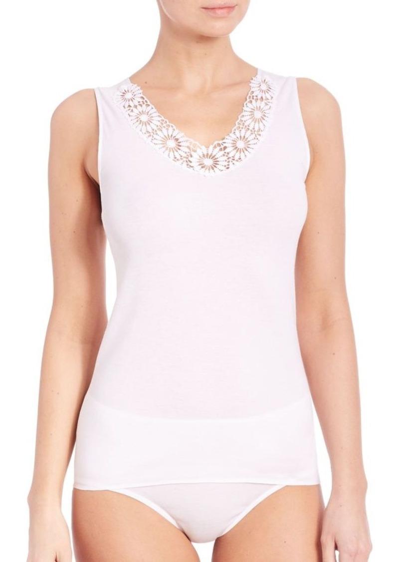Hanro Eva Lace & Cotton Camisole