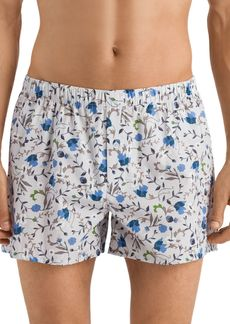 Hanro Fancy Woven Boxers, Pack of 2