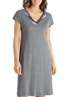Hanro Fenja Cap-Sleeve Gown