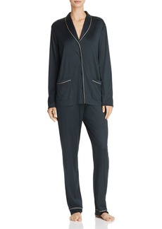 Hanro Florentine Long Pajama Set