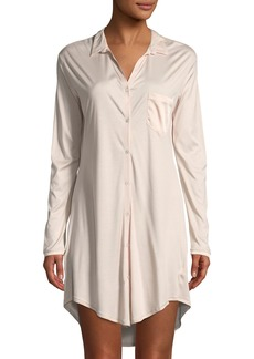 Hanro Grand Central Silk-Blend Sleepshirt