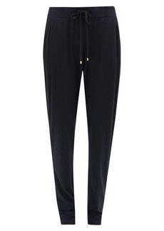 Hanro High-rise cotton-blend jersey pyjama trousers