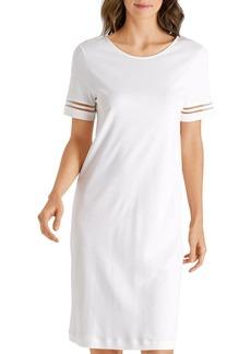 Hanro Ilona Sheer-Inset Nightgown