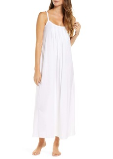 Hanro Juliet Pleat Neck Cotton Nightgown