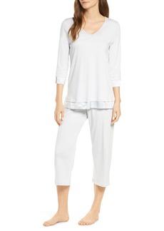 Hanro Lamia Crop Pajamas