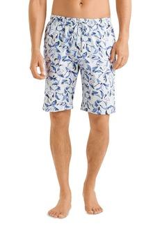 Hanro Linen Cotton Printed Short Pajama Pants