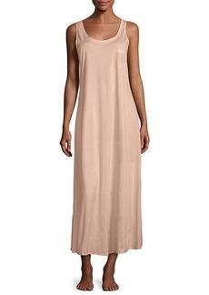 Hanro Long Cotton Tank Nightgown