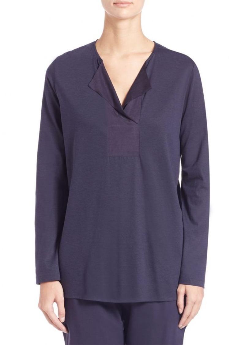 Hanro Long-Sleeve Lounge Shirt