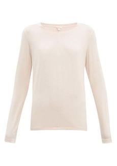 Hanro Long-sleeved jersey pyjama top