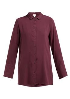 Hanro Longline buttoned jersey shirt