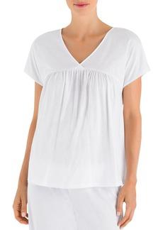 Hanro Lotta Short Sleeve Crop Pajama Set