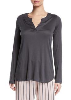 Hanro Malie Long-Sleeve Lounge Shirt