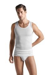 Hanro Men's Cotton Pure Tank Top