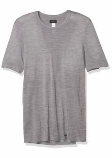 HANRO Men's Light Merino Short Sleeve Shirt
