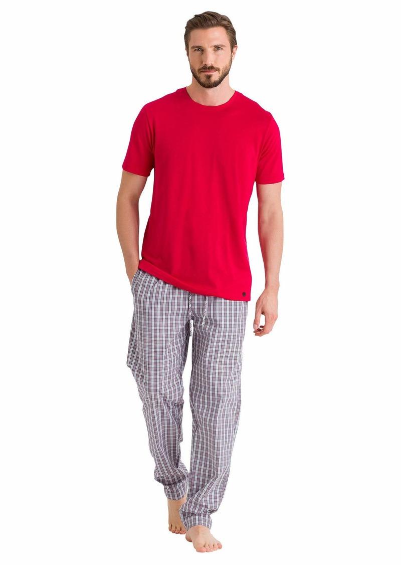 HANRO Men's Night and Day Short Sleeve Shirt