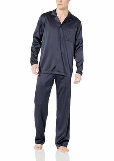 HANRO Men's Silk Long Sleeve Pajama Set 75006