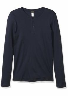 HANRO Men's Thilo Long Sleeve Henley Shirt