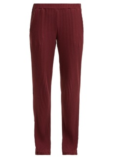 Hanro Minna ribbed cotton-blend pyjama trousers