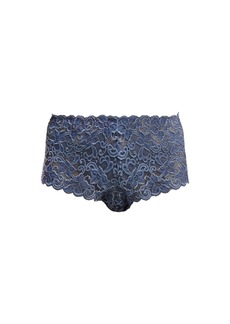 Hanro Moments floral-lace high-rise briefs