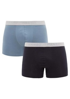 Hanro Pack of two stretch-cotton jersey boxer briefs