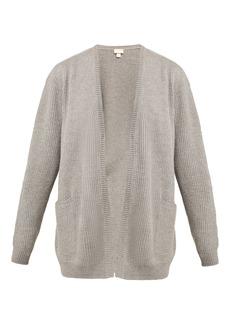 Hanro Patch-pocket wool cardigan