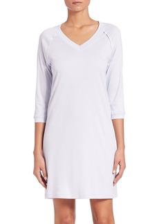 Hanro Pure Essence Three-Quarter Sleeve Gown