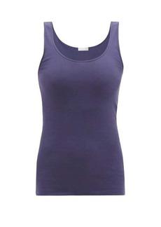 Hanro Seamless scoop-neck cotton-jersey tank top
