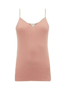 Hanro Seamless V-neck cotton cami top
