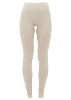 Hanro Silk-cashmere blend leggings