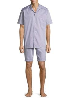 Hanro Sky Short-Sleeve Cotton PJ